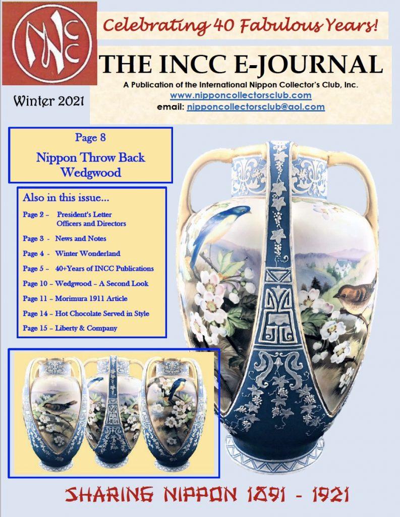 2021 Winter INCC E-Journal - Nippon Collectors Club