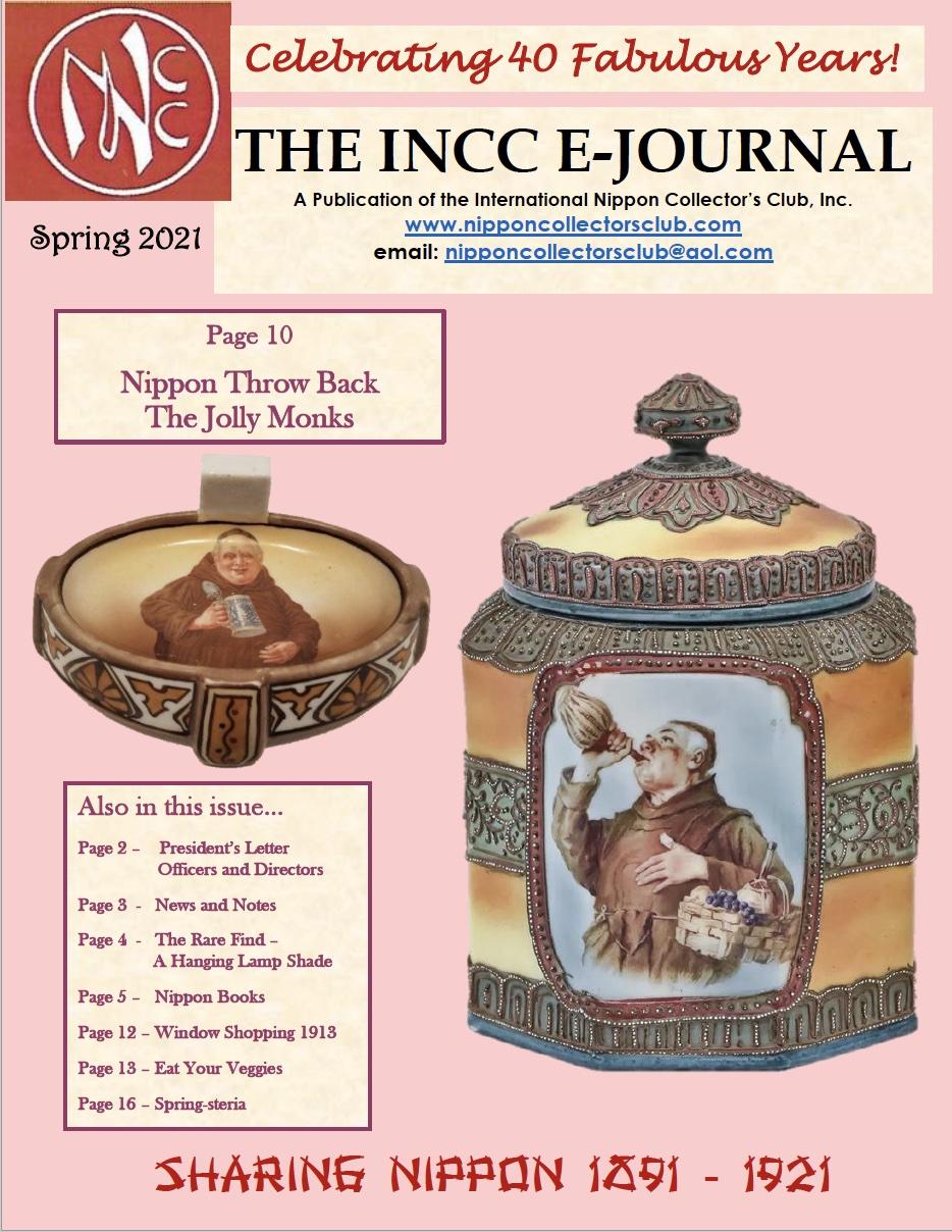 2021 Spring INCC E-Journal - Nippon Collectors Club